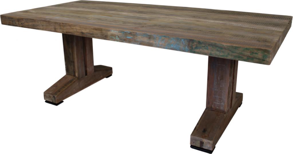 Eettafel oud java hout cm hsm colelction lil